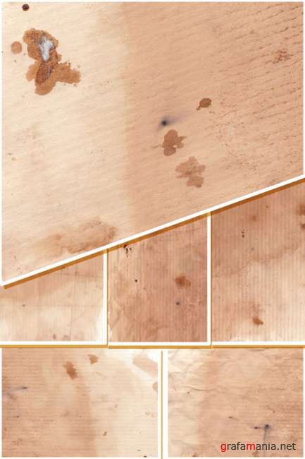 7 Coffee Stained Paper Textures