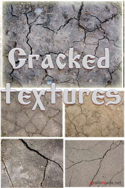 High-Res Cracked Textures