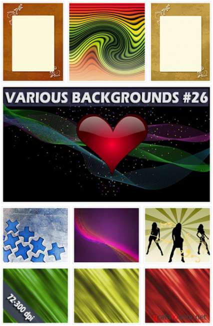 Various backgrounds. Часть 26