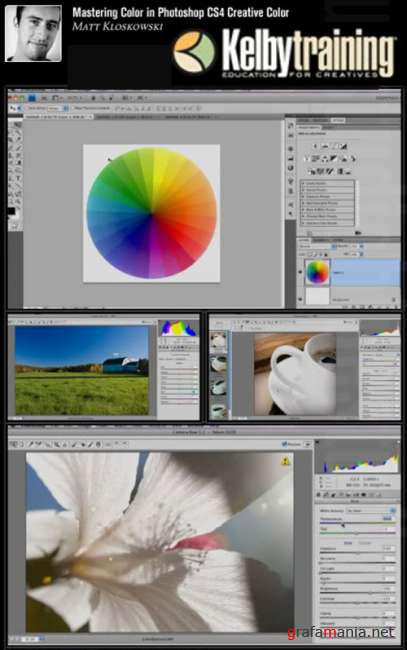Kelby Training Mastering - Color in Photoshop CS4 Creative Color