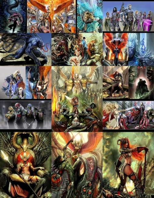 Comics Artworks (Nebezial)