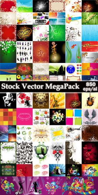 Stock Vector MegaPack 2009