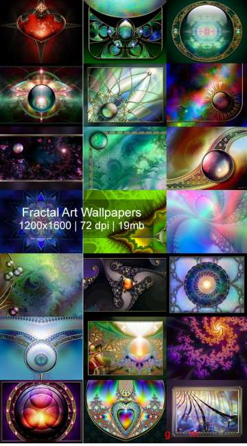 Fractal art Wallpapers