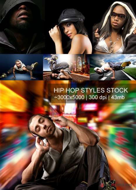 Hip Hop Styles Stock