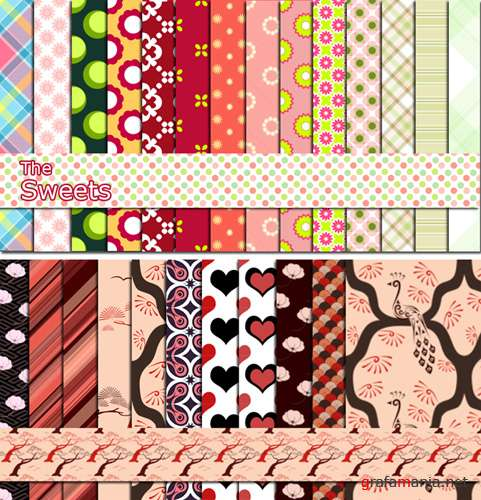 "Pattern Pack ""The Sweets"""