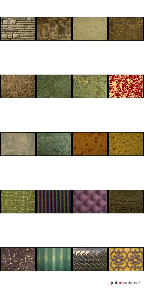 Corel Photo Libraries | COR356 | Textures by James Dawson