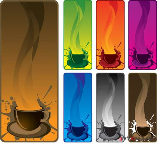 Colour banners Coffee