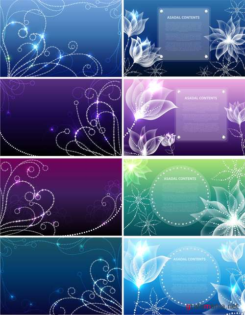 Sparkling backgrounds