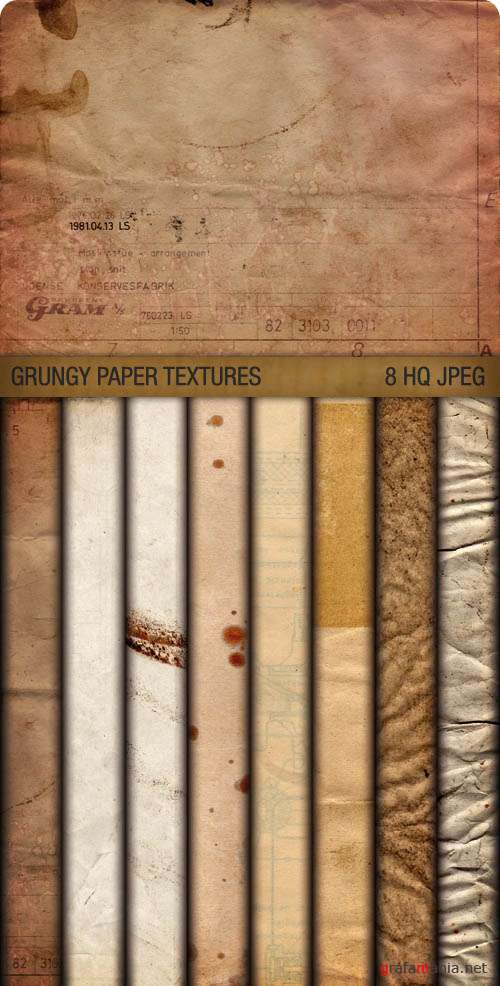 Текстуры - Grungy Paper Textures