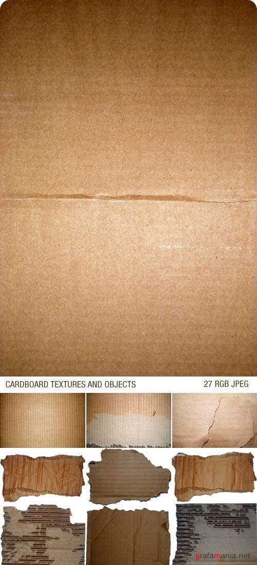 Текстуры - Cardboard Textures and Objects