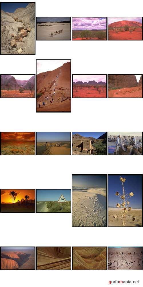 Corel Photo Libraries | COR-664 | Desert Scenes