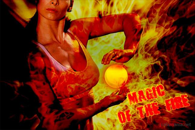 magic of the fire