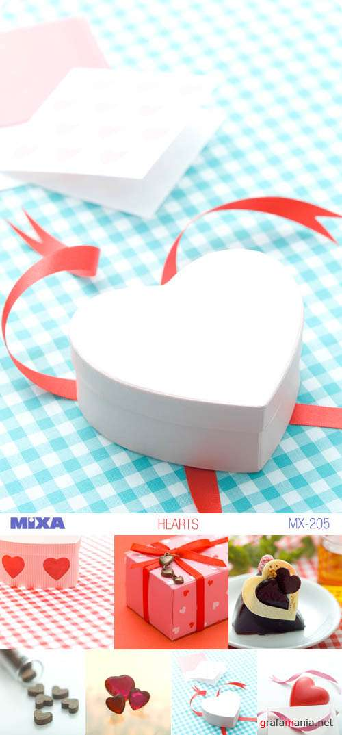 Mixa | MX-205 | Hearts