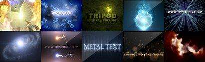 TRIPODBG PACK FREE After Effects projects