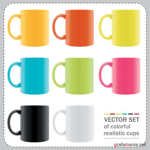 Realistic cups
