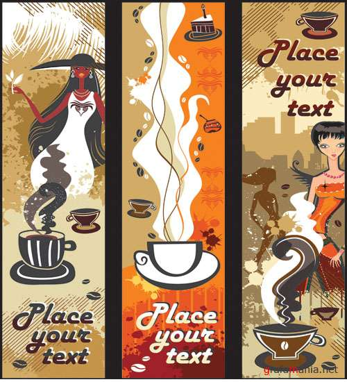 Banner coffee
