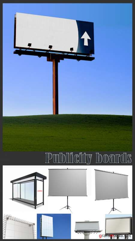 Publicity boards