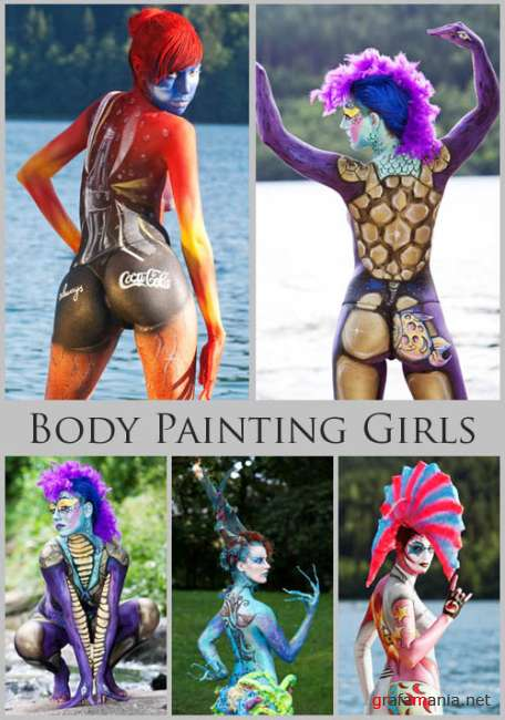 Body Painting Girls Pictures
