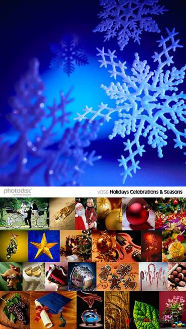 PhotoDisc V056: Holidays, Celebrations & Seasons