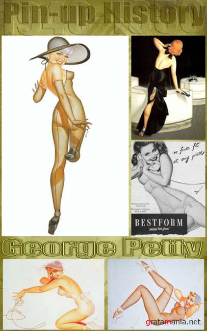 History Pin-Up. George Petty (1894 - 1975)