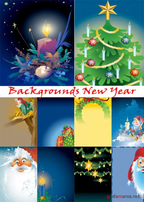 Backgrounds New Year