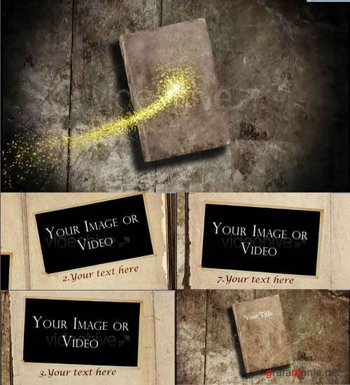 Videohive Magical book Intro HD