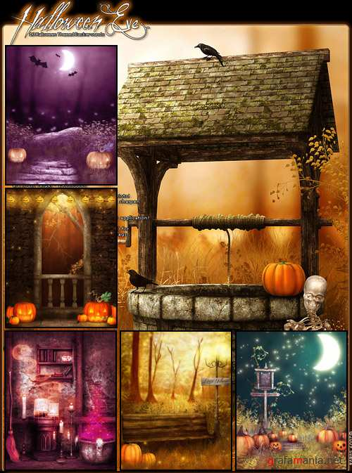 Halloween Eve Backgrounds
