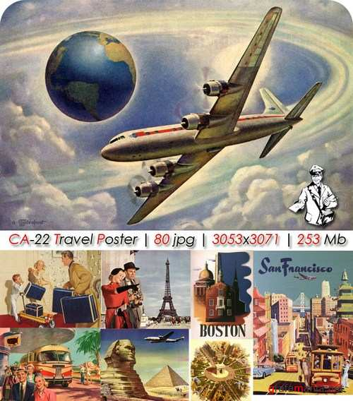������� ��������� ������� / Travel Poster CA-22