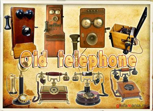 PSD - Old telephone