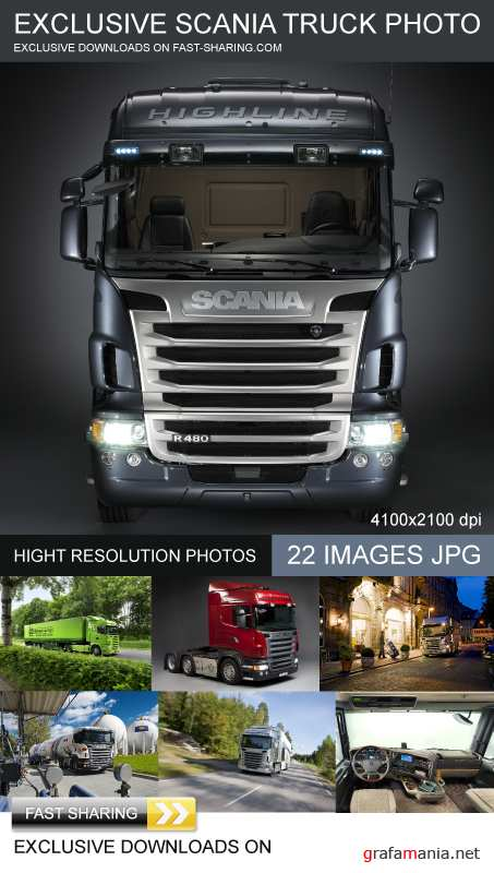 EXCLUSIVE SCANIA TRUCK PHOTO