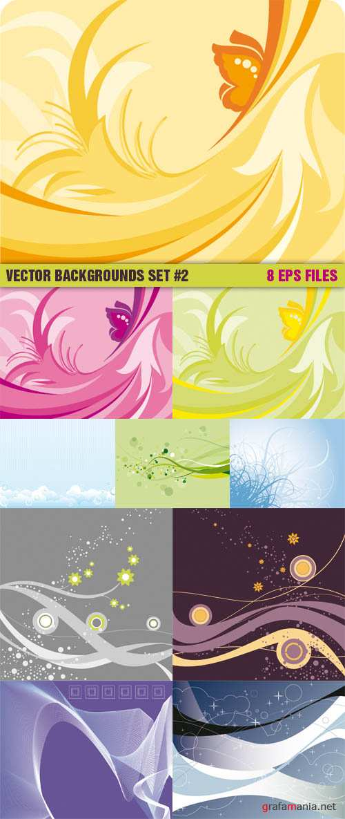 Vector Backgrounds Set #2