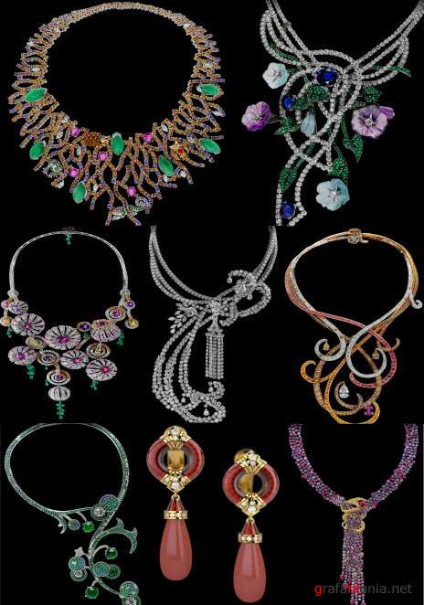 ������� � ��������� ��������� 15    Klipart � Jewelry embellishment 15