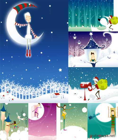 fantastic christmas backgrounds