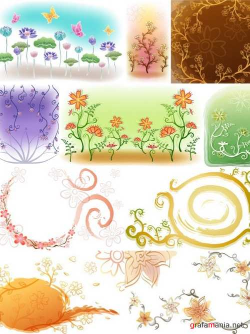Floral Backgrounds 2