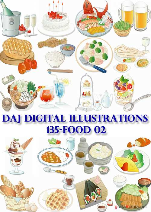 DAJ Digital Illustrations 135-Food 02