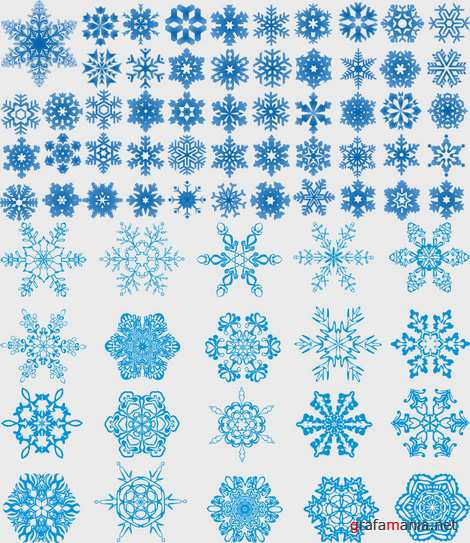 Vector - Snowflakes Pack