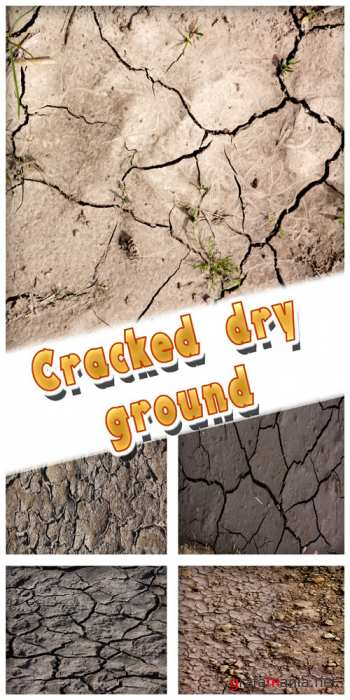 Textures - Cracked dry ground