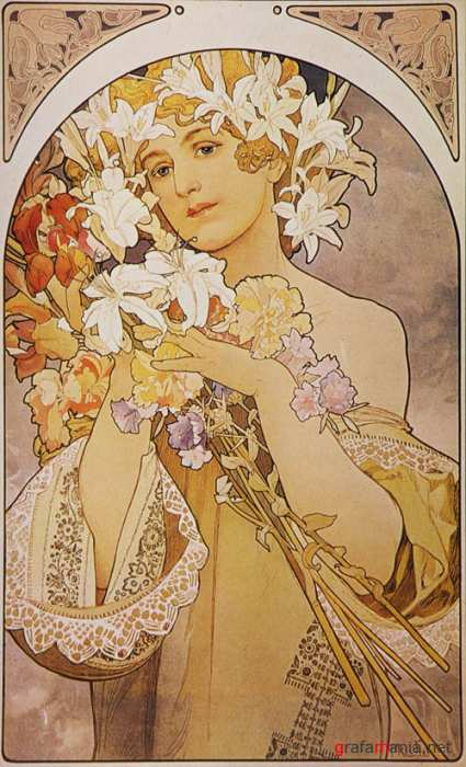Alphonse Mucha  Works of Art