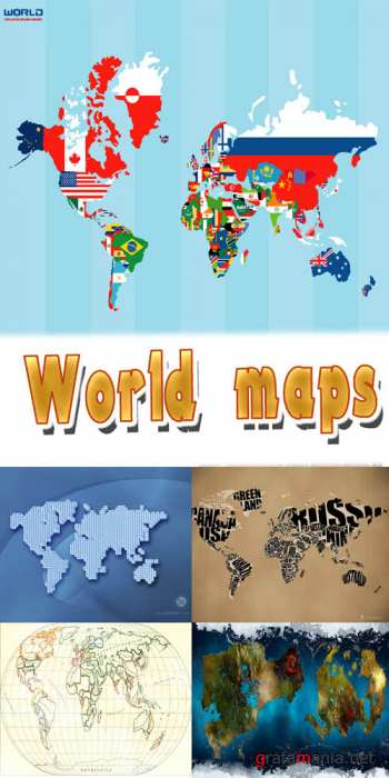 Textures - World maps