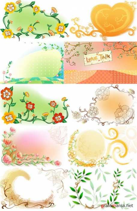 Floral Backgrounds 3