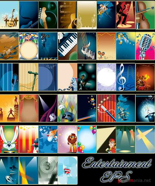 Entertainment vector