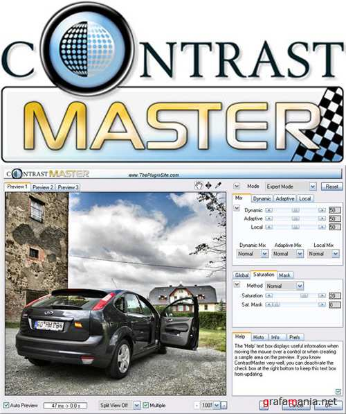ContrastMaster v1.04 Retail for Adobe Photoshop x86/x64 + Руссификатор