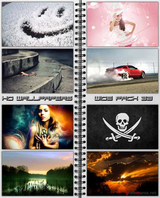 HD Wallpapers Wide Pack №33
