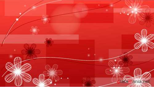 Red vector backgrounds