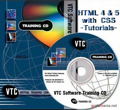 VTC.com HTML 4 And 5 With CSS Tutorials DVD-iRONiSO (2010)