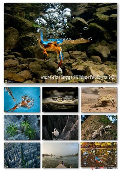 Amazing National Geographic HQ Wallpaper Pack (November 2009)