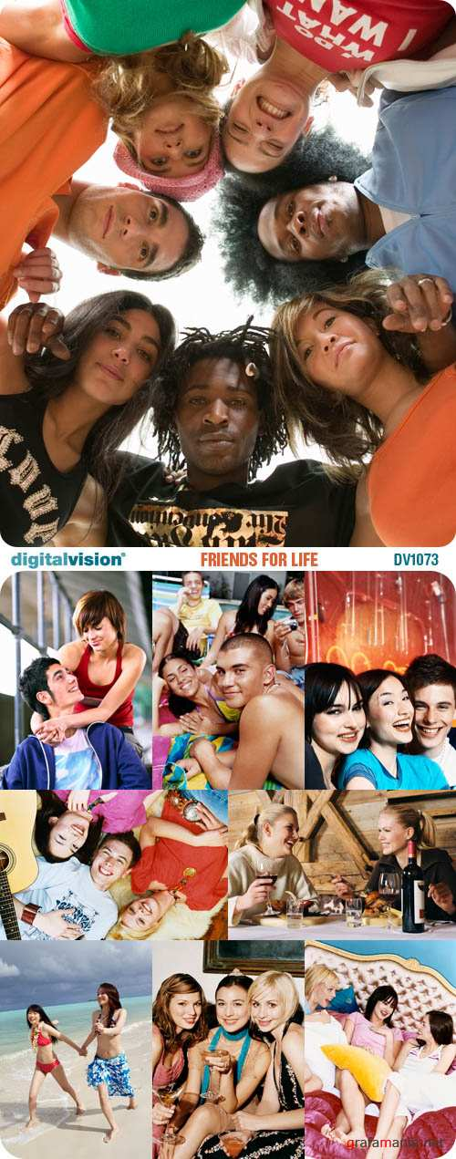 Digital Vision | DV1073 | Friends for Life