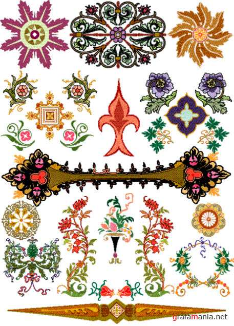 Орнаменты и узоры    Ornaments and patterns