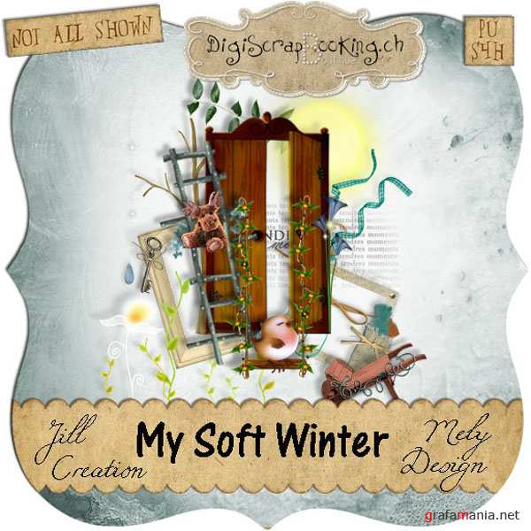 Скрап-набор - My soft winter