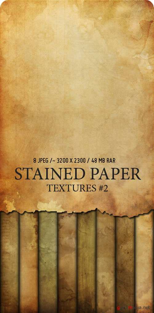 Текстуры - Stained Paper #2